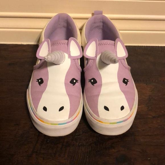 0ec520fef0 Vans Kids Asher Unicorn Slip Ons. M 5a866d90d39ca25e091b2f4c